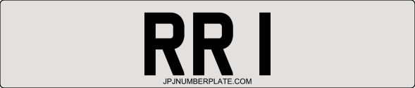 The Latest RR Number Plate Series
